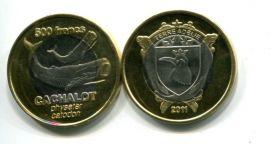 500 франков 2011 год (кашалот) Земля Адели