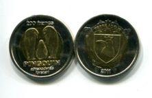 200 франков 2011 год (пингвины) Земля Адели
