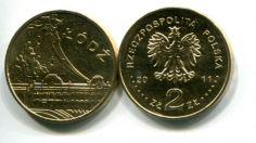 2 злотых 2011 год (Лодзь) Польша