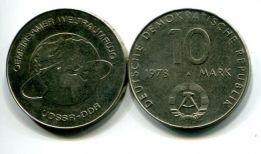 10 марок 1978 год (совместный космический полёт) Германия (ГДР)