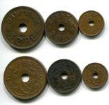 Набор монет Дании