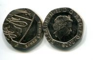20 пенсов 2008 год Великобритания
