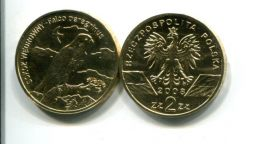 2 злотых 2008 год Польша