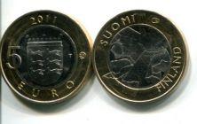 5 евро (Остроботния, 2011 г.) Финляндия