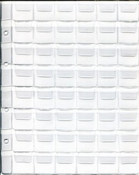 """Лист для монет на 48 ячеек в альбом формата """"Optima"""""""