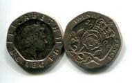 20 пенсов (года разные) Великобритания