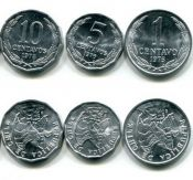 Набор монет Чили