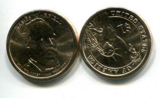 1 доллар 2011 год (Джеймс Гарфилд) США