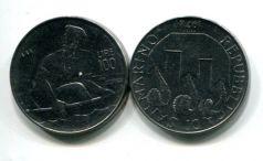 100 лир 1972 год Сан-Марино