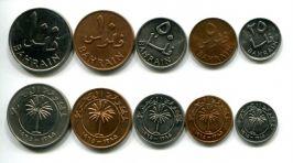 Набор монет Бахрейна 1965 год