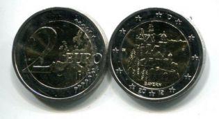 2 евро 2012 год А (замок Нойншванштайн) Германия