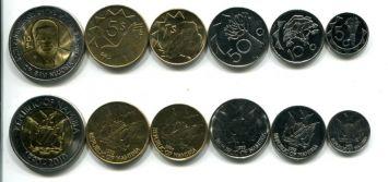 Набор монет Намибии