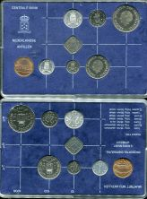 Набор монет Нидерландских Антил 1984 год