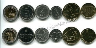 Набор монет Израиля