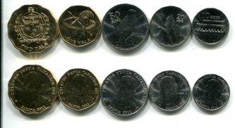 Набор монет Самоа 2011 год