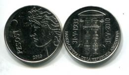 2 песо 2010 год Аргентина