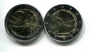 2 евро 2011 год (первые выборы) Мальта