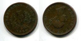 1/2 пенни (токен) 1840 год Канада (NOVA SCOTIA)