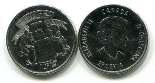 1 пенни (токен) 1842 год Канада (нижняя)