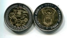 5 ранд 2011 год (90 лет банку) Южная Африка
