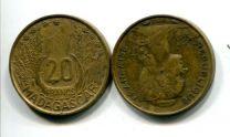 20 франков 1953 год Мадагаскар