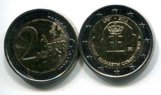 2 евро 2012 год Бельгия