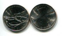 25 центов (квотер) 2012 год (парк Чако) США