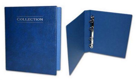 Альбом для монет и бон Collection (Коллекшн) БЕЗ листов (кольцевой механизм)