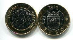 5 евро (Сатакунта, 2010 г.) Финляндия