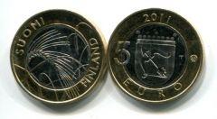 5 евро (Савония, 2011 г.) Финляндия