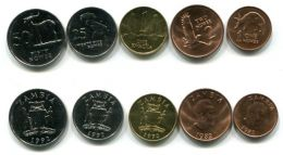 Набор монет Замбии