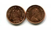 1 цент 1998 год Фолклендские острова