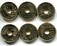 Набор монет Испании