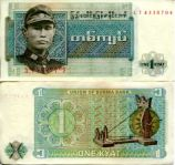 1 кьят Бирма