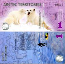 1 доллар 2012 год Арктические территории