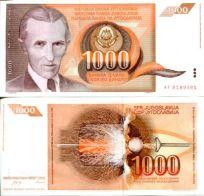 1000 динар Югославия
