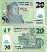 20 найра Нигерия