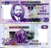 20 метикай 2006 год Мозамбик