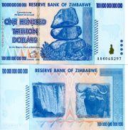100 000 000 000 000 долларов (сто триллионов) Зимбабве