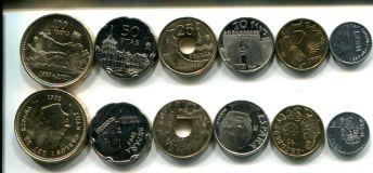 Набор монет Испании (город)