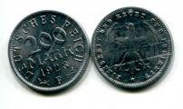 200 марок 1923 год F Германия