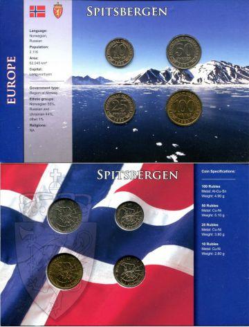 Набор монет Шпицбергена 1993 год