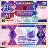 20 шиллингов 1987 год Уганда