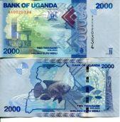 2000 шиллингов 2010 год Уганда