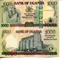 1000 шиллингов 2009 год Уганда
