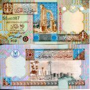 1/4 динара 2002 год Ливия