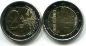 2 евро 2012 год (Х. Шерфбек, художница) Финляндия