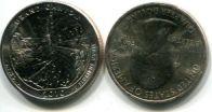 25 центов (квотер) 2010 год (Большой Каньон) США