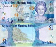 1 доллар 2010 год Каймановы острова (королева)