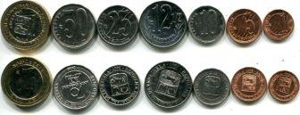 Набор монет Венесуэлы